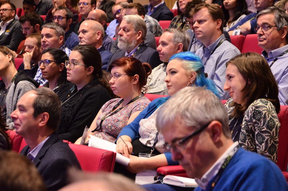 Audience at Radio TechCon 2018