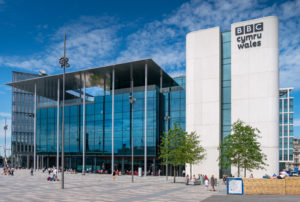 BBC Cymru Wales headquarters building